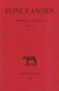 Pline l'Ancien - Histoire naturelle - Livre 7.