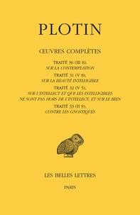 Plotin - Oeuvres complètes - Tome 2, Volume 3, Traités 30 à 33.