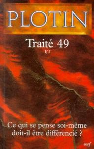 Plotin - Traité 49.