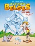Pluk et Philippe Larbier - Les Blagues Belges Tome 2 : Tome deux fois.