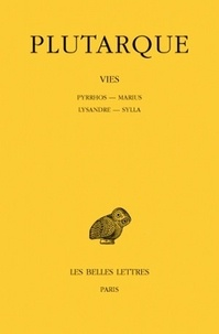 Deedr.fr Vies - Tome 6, Pyrrhos-Marius, Lysandre-Sylla Image
