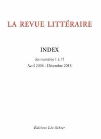 PLV - Index de la revue litteraire.