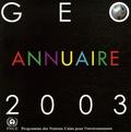 PNUE - GEO annuaire 2003.