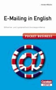 Pocket Business - E-Mailing in English - Stilsicher und systematisch korrespondieren.