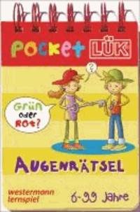 PocketLÜK. Spielblock Augenrätsel: Verknüpfen, Unterscheiden, Kombinieren.