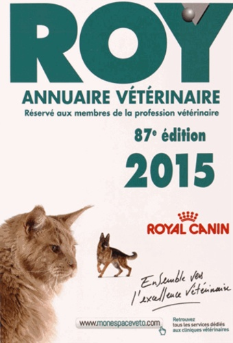 Point Vétérinaire - Annuaire vétérinaire Roy 2015.