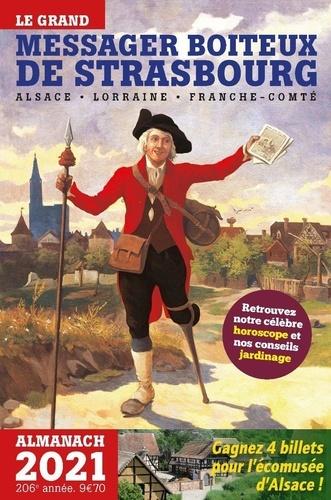 Pointillés Editions - Le grand messager boiteux de Strasbourg - Almanach Alsace, Lorraine, Franche-Comté.