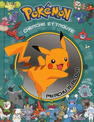Cherche Et Trouve Pokemon Pikachu A Alola Grand Format