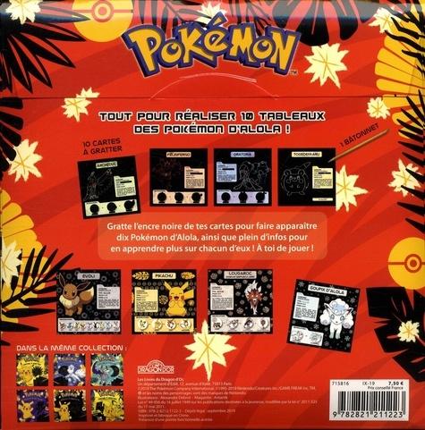 Pokémon Cartes à gratter. Avec 10 cartes, 1 bâtonnet, des infos sur les Pokémon