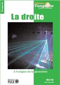 Bertrand Hauchecorne - Tangente Hors-série N° 59 : La droite - A l'origine de la géométrie.