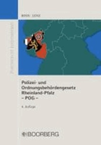 Polizei- und Ordnungsbehördengesetz Rheinland-Pfalz - POG.