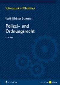 Polizei- und Ordnungsrecht.
