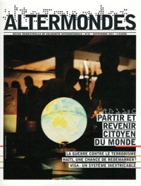 David Eloy - Altermondes N° 27, Septembre 201 : Partir et revenir citoyen du monde.