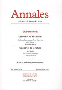 Antoine Lilti - Annales Histoire, Sciences Sociales N° 1, janvier-mars 2 : Environnement.