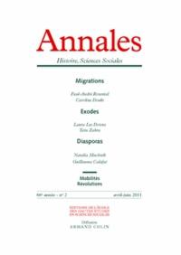 Paul-André Rosental et Caroline Douki - Annales Histoire, Sciences Sociales N° 2, Avril-juin 201 : .