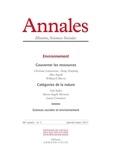 Didier Fassin et Alexandre Escudier - Annales Histoire, Sciences Sociales N° 6, Novembre-décem : .