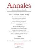 EHESS - Annales Histoire, Sciences Sociales N° 70 (1/2015) : .