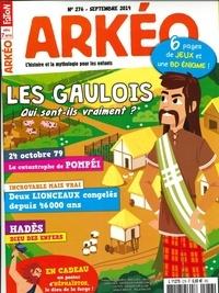 Arkéo Junior - Arkéo junior N° 276, septembre 20 : Si on vivait au temps des Gaulois.