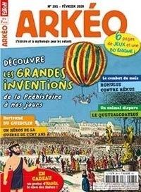 Faton - Arkéo junior N° 281, février 2020 : Les grandes inventions.