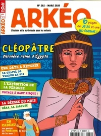 Arkéo Junior - Arkéo junior N° 282, mars 2020 : Cléopatre.