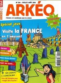 Arkéo Junior - Arkéo junior N° 286, juillet-août : Spécial jeux.
