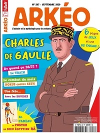 Arkéo Junior - Arkéo junior N° 287, septembre 20 : Charles de Gaulle.