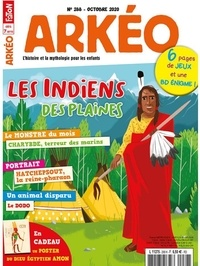 Arkéo Junior - Arkéo junior N° 288, octobre 2020 : Les Indiens des plaines.