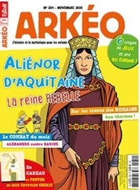 Collectif - Arkéo junior N° 289, novembre 202 : Aliénor.