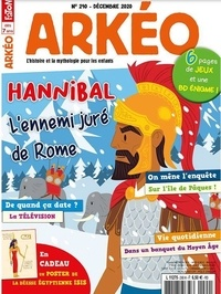 Arkéo Junior - Arkéo junior N° 290, décembre 202 : Hannibal.