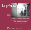 Edith Viarmé et Daniel Sibony - Art & Thérapie N° 82/83 Septembre 2 : La présence.