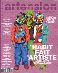 Artension Editions - Artension N° 166, mars-avril 2 : L'habit fait l'artiste.