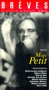 Atelier du Gué - Brèves N° 59 : Marc Petit.