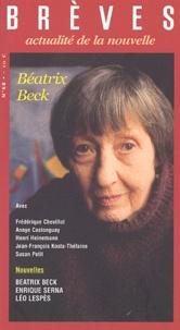 Atelier du Gué - Brèves N° 68 : Béatrix Beck.