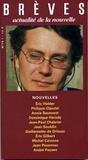 Eric Holder et Philippe Claudel - Brèves N° 75 : Eric Holder.