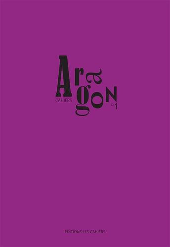 Luc Vigier - Cahiers Aragon N° 1 : .