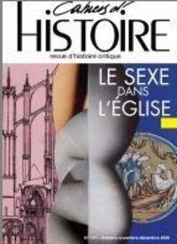 Association Paul Langevin - Cahiers d'Histoire N° 147, janvier 2021 : Le sexe dans l'Eglise.
