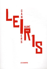 Jean-Sébastien Gallaire - Cahiers Leiris N° 1, 2007 : .