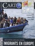 Guillaume Fourmont et Alexis Bautzmann - Carto N° 50, novembre-déce : Migrants en Europe.