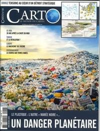 """Guillaume Fourmont - Carto N° 56, novembre-déce : Le plastique : l'autre """"marée noire"""" - Un danger planétaire."""