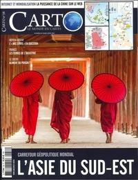 Guillaume Fourmont - Carto N° 58, mars-avril 20 : L'Asie du sud-est.