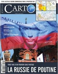 Areion Group - Carto N° 64, mars 2021 : La Russie de Poutine.