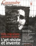 Nicolas Roméas - Cassandre N° 105, Printemps 20 : L'art résiste et invente - Exils, migrations, urbanisme, écoles....