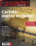 Gilles Clément et Fernand Deligny - Cassandre N° 72, Hiver 2007 : L'artiste, espèce en danger.