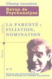 Luis Izcovich et Gabriel Lombardi - Champ Lacanien N° 2 : Psychanalyse et religions.