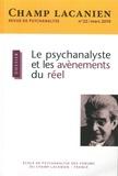 Colette Soler - Champ Lacanien N° 22, mars 2019 : Le psychanalyste et les avènements du réel.