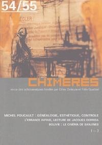 Collectif - Chimères N° 54/55, Automne 20 : Foucault.