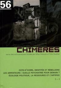 Collectif - Chimères N° 56, Printemps 200 : .