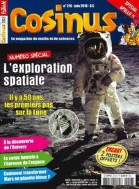Olivier Fabre - Cosinus N° 216, juin 2019 : L'exploration spatiale.
