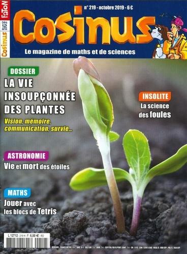 Olivier Fabre - Cosinus N° 219, octobre 2019 : L'intelligence des plantes.