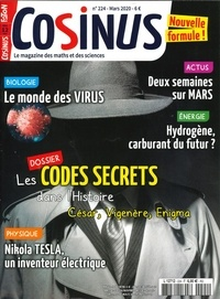 Olivier Fabre - Cosinus N° 224, mars 2020 : Les codes secrets.